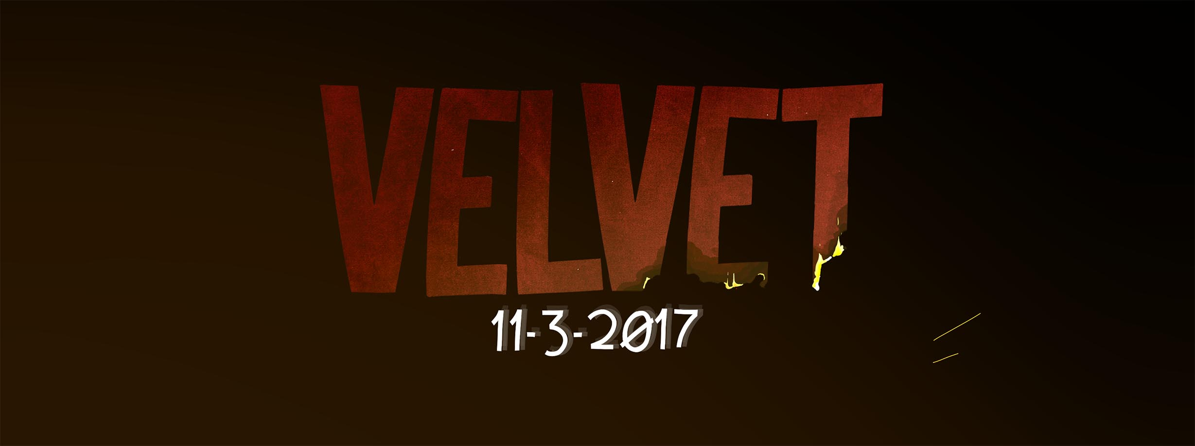 Velvet Available November 3, 2017